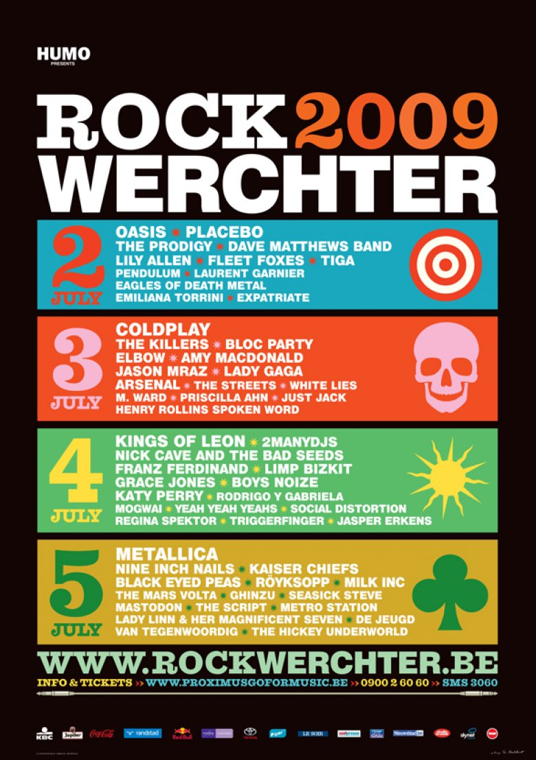 Rock werchter coupons on festival